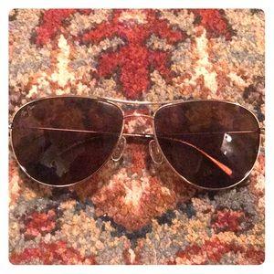 Maui Jim Sea House polarized aviator sunglasses